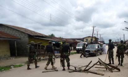 Army in Borno